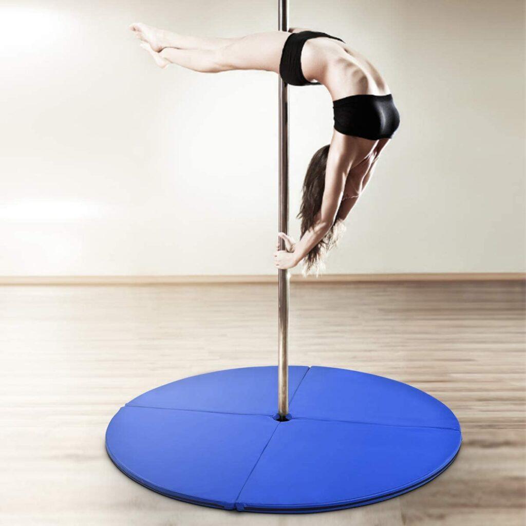 colchonetas para entrenar pole dance con seguridad
