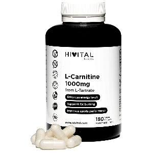 Pastillas L carnitina cápsulas veganas para ayudar a perder peso