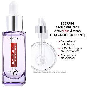 Sérum Revitalift L´Oreal antiarrugas con ácido hialurónico puro